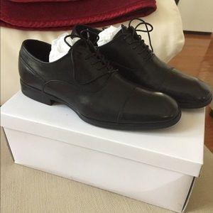 NEw Calvin Klein Carlton leather men's shoes 8.5